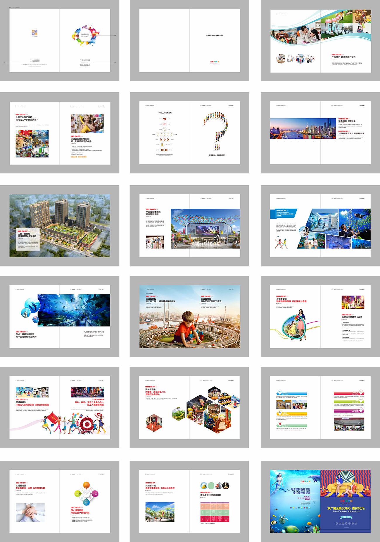 商业房地产综合体楼书画册CDR源文件插图
