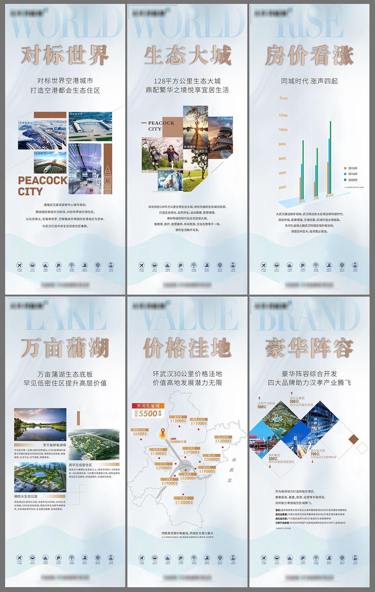 地产价值展板售楼部CDR源文件插图