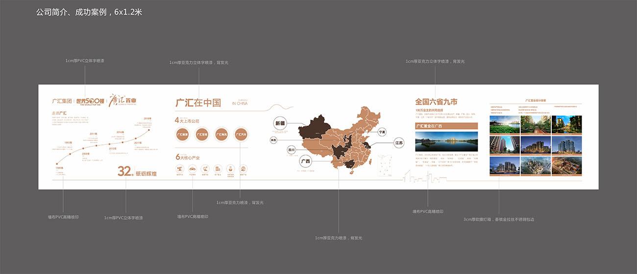 地产品牌墙CDR源文件插图